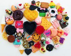 50 PCS Cute Yummy Sweets Mix Deco Kawaii by ThePrincessRoom