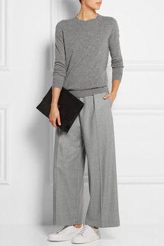 Women's fashion, casual- Edith P Mode casual pour femmes – Edith P Fashion Mode, Grey Fashion, Look Fashion, Womens Fashion, Fashion 2018, Cheap Fashion, Feminine Fashion, Ladies Fashion, Fashion Online