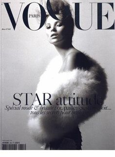 kate moss on Vogue cover