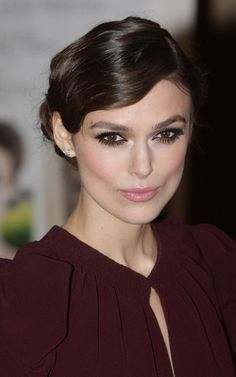 Keira Knightley...flawless. The dark under eyeliner suits her dramatic face so well, and makes her eyes so mysterious.