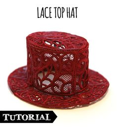 Tutorials   Urban Threads: Unique and Awesome Embroidery Designs Custom Embroidery, Machine Embroidery, Embroidery Designs, Fascinator Hairstyles, Hat Hairstyles, Fascinators, Handmade Hair Accessories, Women Accessories, Steampunk Clothing