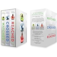 The Matched Trilogy. An entertaining read. Of course nothing ever quite reaches the epicness that is The Hunger Games....