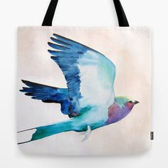 Lilac Roller Tote Bag - Free shipping this weekend - New from Mai Autumn on Society6