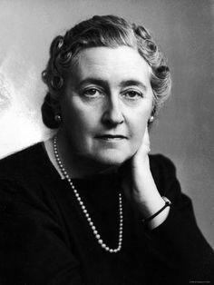 Portrait of Mystery Novelist Agatha Christie
