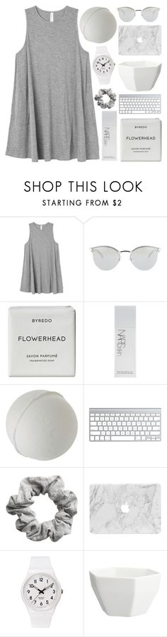 """""""77 ; TOP SET ♡ mirror, mirror I confess, I can't escape this emptiness"""" by faith-and-metanoia ❤ liked on Polyvore featuring RVCA, Fendi, Byredo, NARS Cosmetics, H&M, Swatch and CB2"""