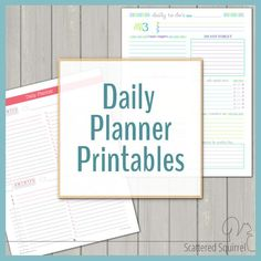 I love the printables on Scattered Squirrel - Lots of free printables to help you create a planner that works for you! There are various daily planner printables, weekly planner printables, printable calendars and more. Planner Free, Weekly Planner Printable, Planner Template, Planner Pages, Happy Planner, Planner Ideas, Stationary Printable, Kids Planner, Monthly Planner