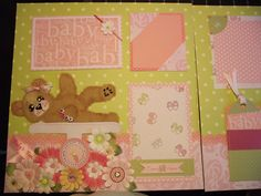 baby girl pages - Scrapbook.com