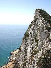 Have to hike the Rock of Gibraltar off the coast of Cadiz, Spain.