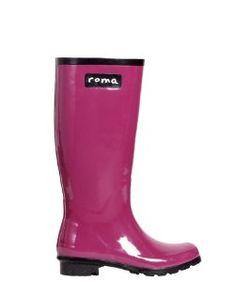 Roma BootsRoma Boots Glossy Plum Rain Boots
