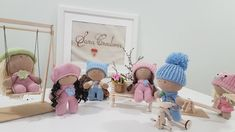 """Sara Creations - crochet toys & wooden handmade things - """" Little ones """" collection Jucarii crosetate & accesorii lemn handmade - colectia """" Little ones """" Crochet Toys, Little Ones, Hats, Handmade, Collection, Embroidery, Hand Made, Hat, Hipster Hat"""