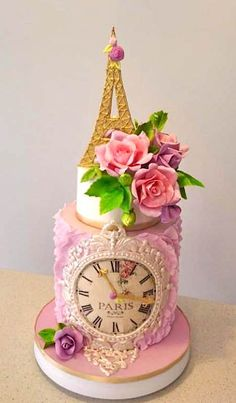 Amazing cakes of Paris Visits this page