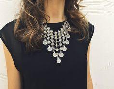 Queen's Veil Necklace #NBJ #NatalieBJewelry