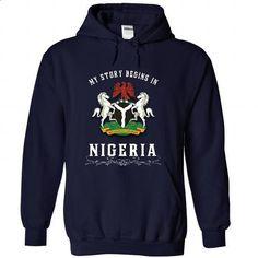 Nigeria - #girl tee #fall hoodie. PURCHASE NOW => https://www.sunfrog.com/LifeStyle/Nigeria-5425-NavyBlue-51201292-Hoodie.html?68278