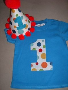 Infant/Toddler Boys First 1st Birthday Big by littleoneboutique, $20.99