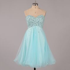 Pretty Sweetheart Tulle Homecoming Dresses, Glittering Beaded Homecoming Dress with Zipper Up Back, Low Back Homecoming Dress, #02051314