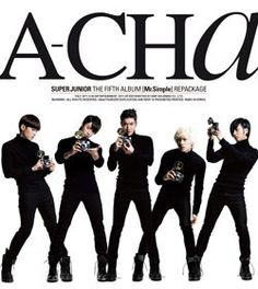 21.51$  Watch now - http://alik68.shopchina.info/go.php?t=32431992660 - SUPER JUNIOR 5TH ALBUM REPACKAGE - A-CHA  Release Date 2011-09-19 KPOP 21.51$ #SHOPPING