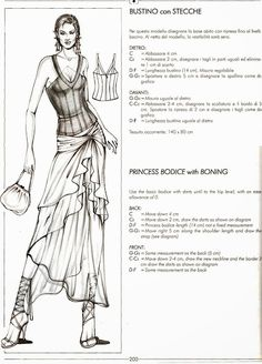 from Il modellismo Free Printable Sewing Patterns, Barbie Sewing Patterns, Sewing Patterns For Kids, Clothing Patterns, Pattern Making Books, Pattern Books, Bodice Pattern, Pants Pattern, Sewing Sleeves