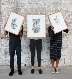 > Where the wild things are  Completely free of kitsch @carlalfletcher's hand-sketched portraits of Australian native animals radiate calm and peace plus they are high up on our list of dream Xmas gifts   Limited edition prints are now back in store in a variety of sizes and looking for their new homes! Prices start from $750  Available in the Koskela Showroom & online > Koskela 1/85 Dunning Ave Rosebery 02 9280 0999 | info@koskela.com.au  store.koskela.com.au Shopping online? It's Last days…