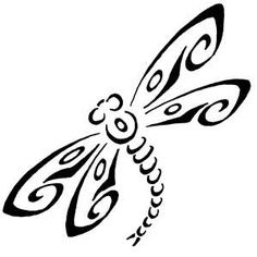 stencil of dragonflies - Google Search