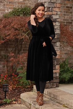 Our Cami velvet dress is lovely! Grab it for 30% off today! Use code: DRESS30