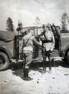 Marsalkka C.G Mannerheim. 1940's