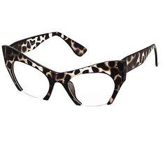 Cat Eye Eyeglasses Women Retro Vintage Razor Clear Lens Style Half Cut Off Frame Good To See You, Cat Eye Glasses, Eyeglasses For Women, Girls Boutique, Glasses Frames, Undercut, Reading Glasses, Stylish Girl, Specs