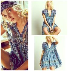 FREE PEOPLE Maxi Tunic A Line Lace Dress NWT NWT and my FAVE  subtle semi pleated flow raw hem. Free People Dresses