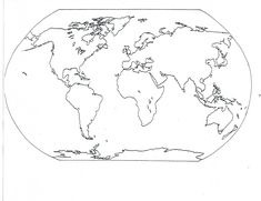 Blank Seven Continents Map | Mr.Guerrieros Blog: Blank and Filled-in Maps of the Continents and ...