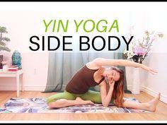 Yin Side Body Stretch - 45 min Yin Yoga Full Class - YouTube