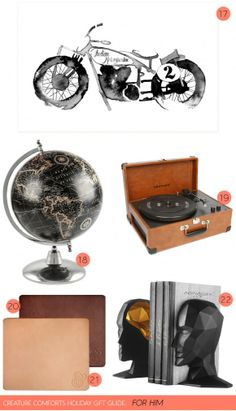 Creature Comforts holiday gift guide: For Him