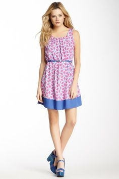 Pleated Front Dress by Pink Owl on @HauteLook