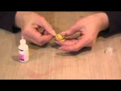 """GREAT tutorial on making """"faux-porcelain"""" mini roses out of paper!! Can't wait to try this!!"""
