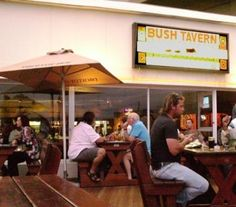 Bush Tavern and Grill, Umdloti. A famous restaurant and pub in KwaZulu Natal, South Africa