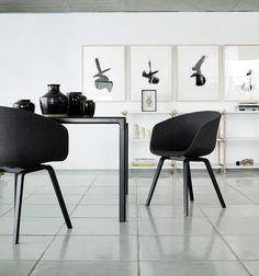 HAY chair in Black