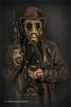 Steampunk Costumes For Movies Give Immortan Joe A New Threat -  #cosplay #fashion #movies #steampunk