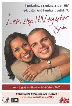 Justin, an HIV educator, is working to encourage more conversations about #HIV in the Latino community.  Learn more about Justin's story.