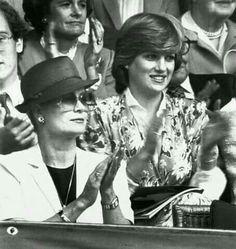 Princesses Grace and Diana