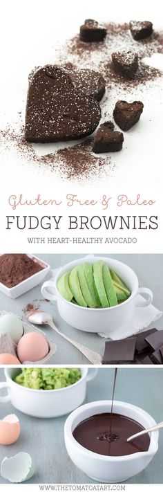 Paleo, Grain Free, Gluten Free Brownies made with AVOCADO!