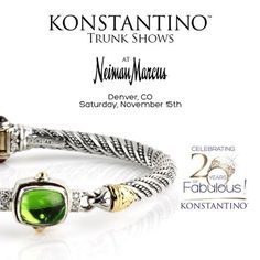 #konstantino #20yearanniversary #jewelry #greece #jewels #treasure #womensfashion #hermione