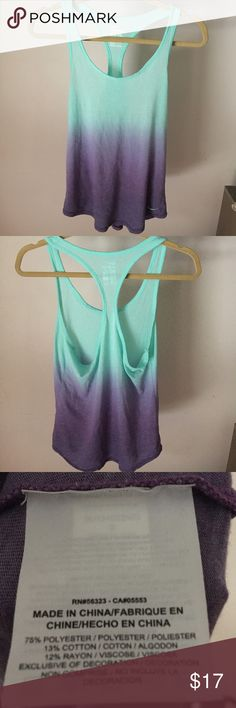 Nike tank Worn once. Perfect condition Nike Tops Tank Tops
