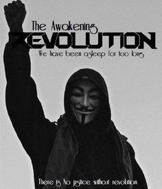 The Awakening Revolution | Anonymous ART of Revolution