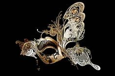My love of butterflies married with my love of masks... what could be more perfect?
