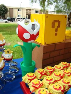 Super Mario Brothers Birthday Party Ideas | Photo 2 of 23 | Catch My Party