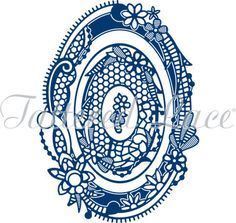 Tattered Lace Dies - Royal Lace 2 Oval