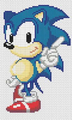 sonic ~ my daughter will LOVE this :) lol
