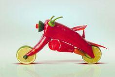 小辣椒拉風摩托車