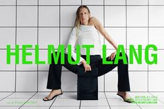 Ever Smith & Laura Morgan by Talia Chetrit for Helmut Lang Resort 2018 campaign Fashion Photo, Fashion Art, Fashion News, Helmut Lang, Carine Roitfeld, Best Ads, Elle Magazine, Advertising Campaign, Beauty