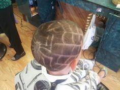 Spider hair design