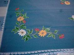 Manteles con flores - Imagui
