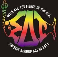 Sigma Delta Tau ... With all the fishes in the sea ...Perfect for my Under the Sea fam!